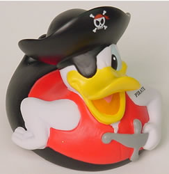Pirate Donald Bath Time Rubber Duckie
