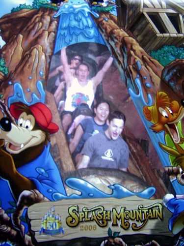 This is a whole other ride in the front of a log.