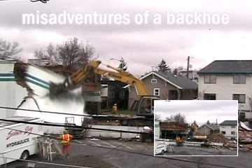 Misadventures of a Backhoe